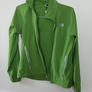 Lime Green Northface Jacket
